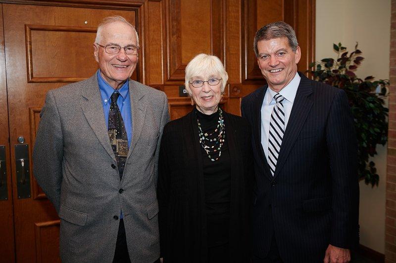 Richard Richardson, Pat Richardson, and Mark Erickson