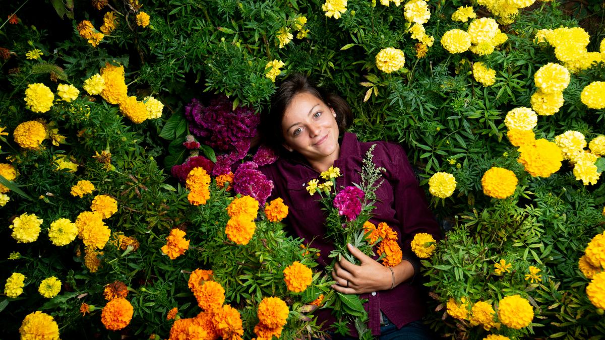 Plant A Flower Day, Amanda Lesondak